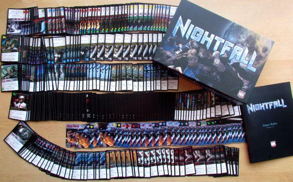 Nightfall - balení