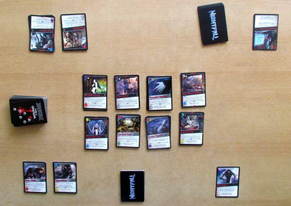 Nightfall: Dark Rages - připravená hra