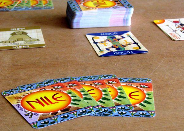 Nile DeLuxor - připravená hra