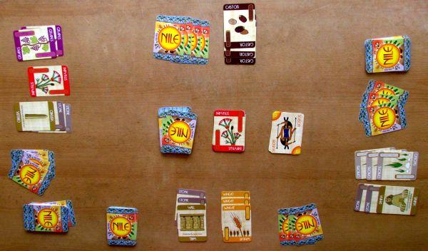 Nile DeLuxor - rozehraná hra