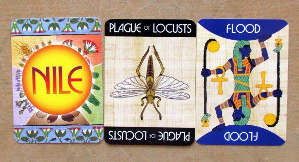 Nile DeLuxor - karty