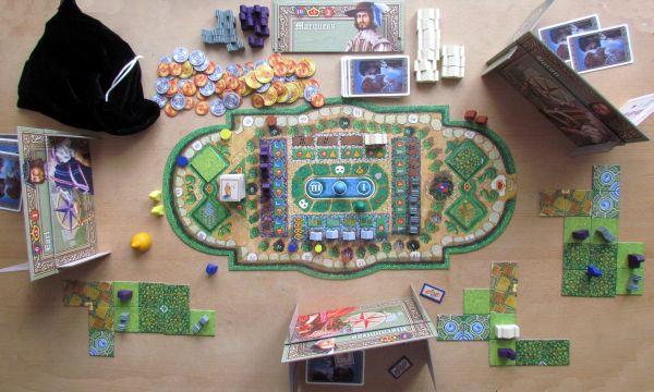 Noblemen - rozehraná hra