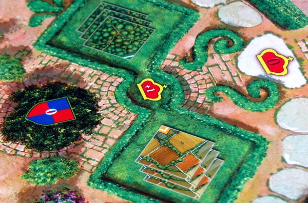 Noblemen - detail herního plánu