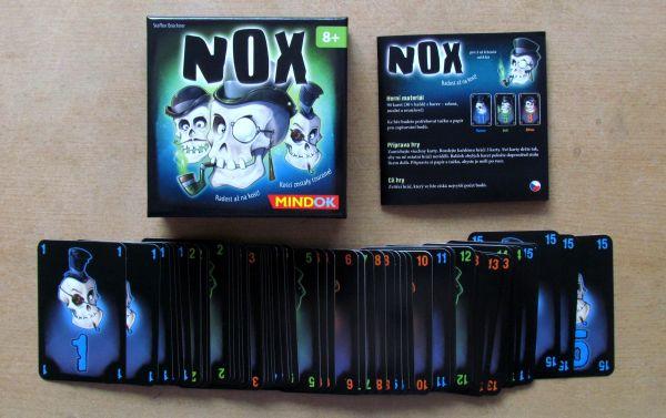 Nox - balení