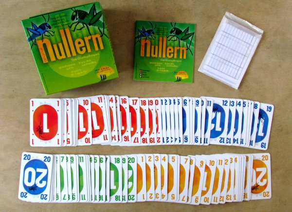 Nullern - balení