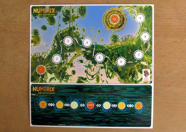 Numerix - herní plán