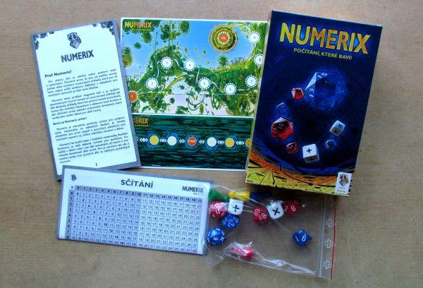 Numerix - balení
