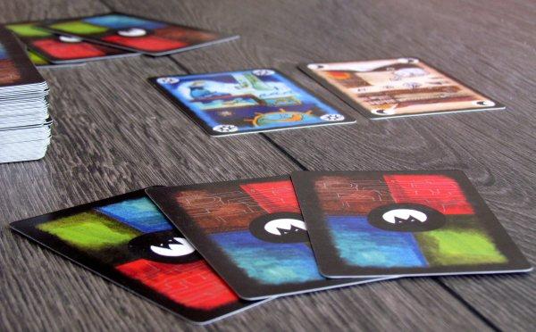 Onirim - připravená hra