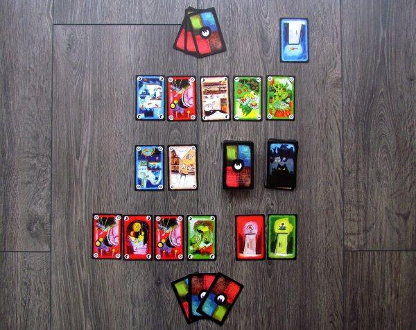 Onirim - rozehraná hra
