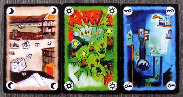 Onirim - karty