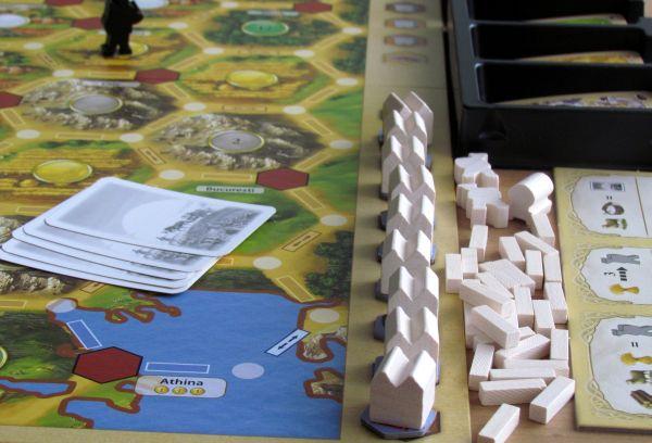 Osadníci z Katanu: Obchod v Evropě - připravená hra
