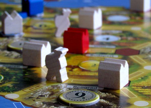 Osadníci z Katanu: Obchod v Evropě - rozehraná hra