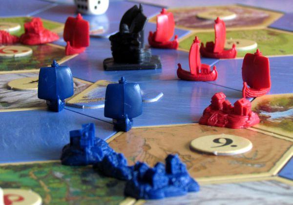 Osadníci z Katanu: Námořníci - rozehraná hra