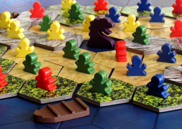 Ostrov - připravená hra