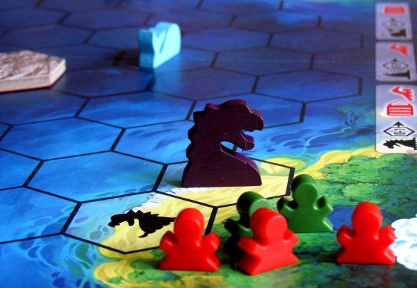 Ostrov - rozehraná hra
