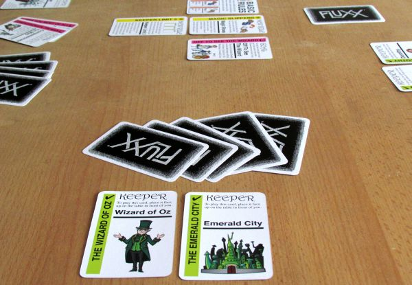 Oz Fluxx - game in progress