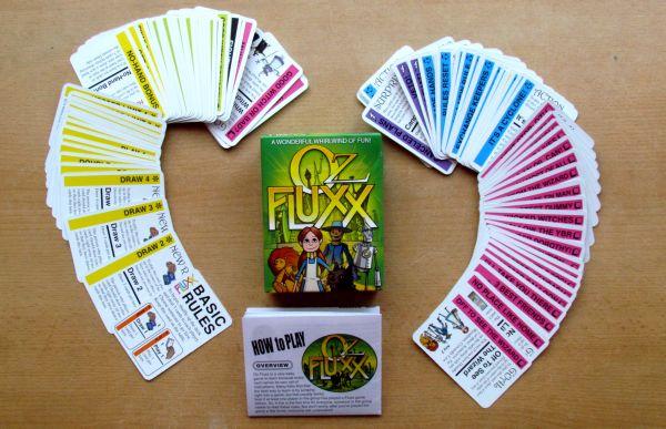 Oz Fluxx - packaging