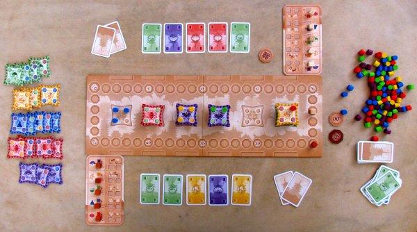 Pagoda - game in progress