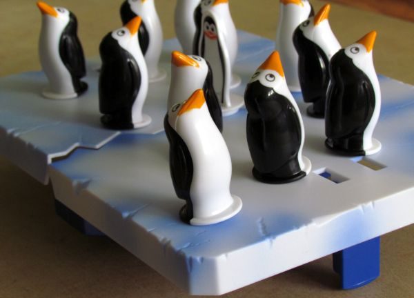 Panika na ledě - rozehraná hra
