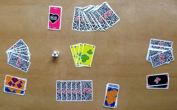 Papayoo - rozehraná hra