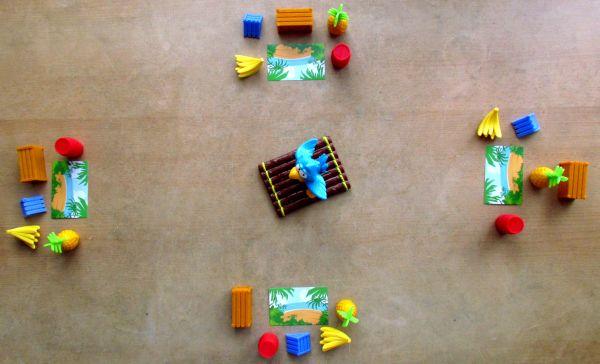 Papouškův náklad - připravená hra