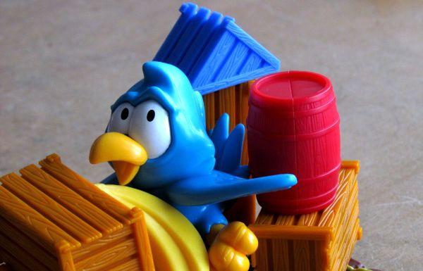 Papouškův náklad - rozehraná hra