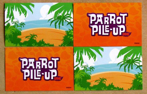 Papouškův náklad - karty