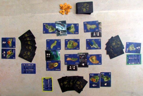 Paradise Fallen - rozehraná hra