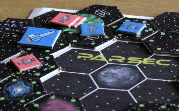 PARSEC - rozehraná hra