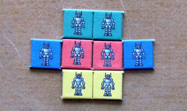 PARSEC - žetony robotů