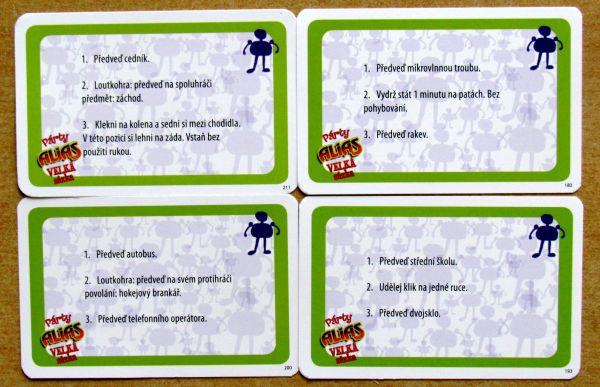 Párty Alias: Velká sázka - karty