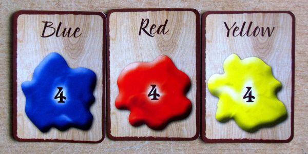 Board game review: Pastiche - cards