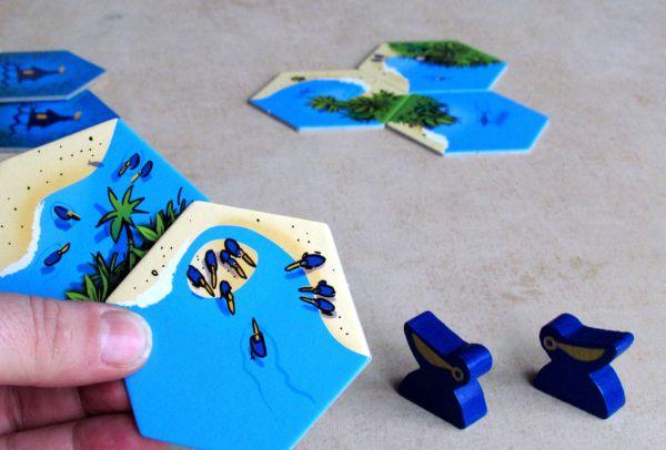 Pelican Bay - připravená hra