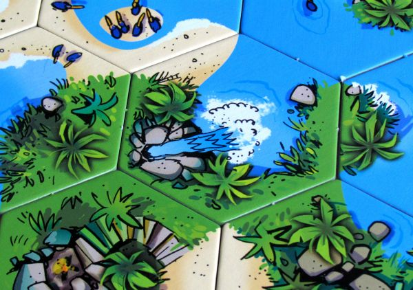 Pelican Bay - rozehraná hra