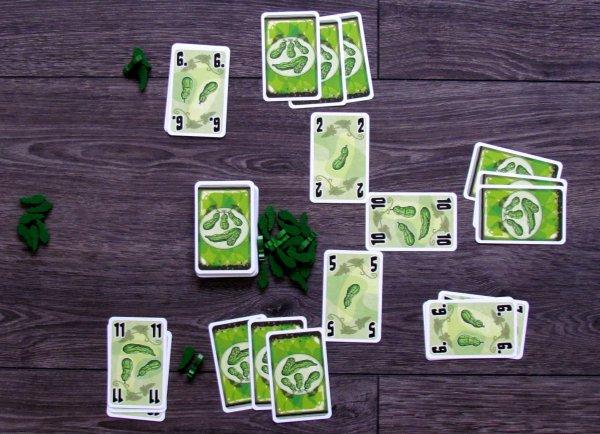 Pět okurek - rozehraná hra