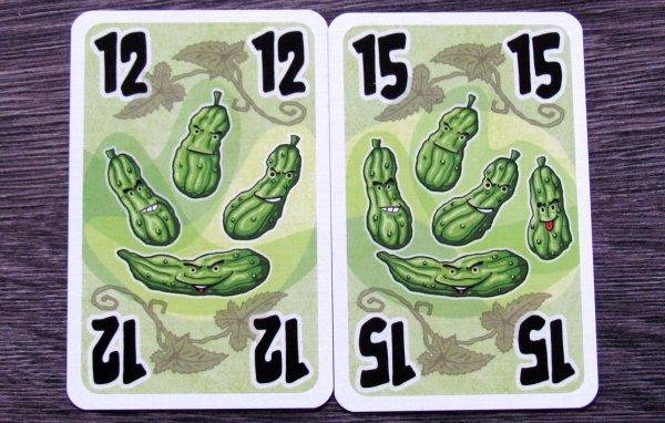 Pět okurek - karty