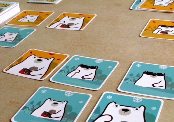 Pick-a-Polar Bear - game in progress