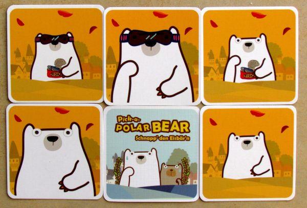 Pick-a-Polar Bear - karty