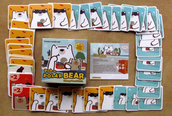 Pick-a-Polar Bear - balení
