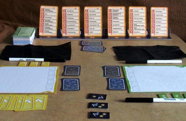 Pictomania - připravená hra