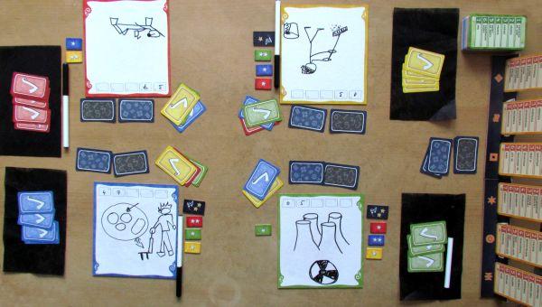 Pictomania - rozehraná hra