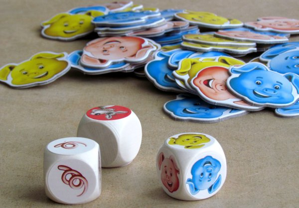 Pigolino - připravená hra