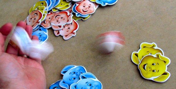 Pigolino - rozehraná hra