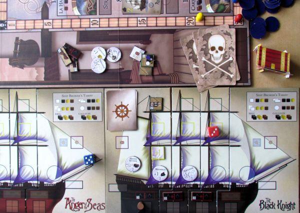 Pirates of Nassau - game in progress