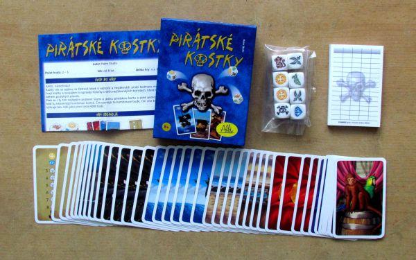 Pirátské kostky - balení