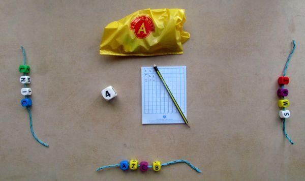 Písmenkobraní - rozehraná hra