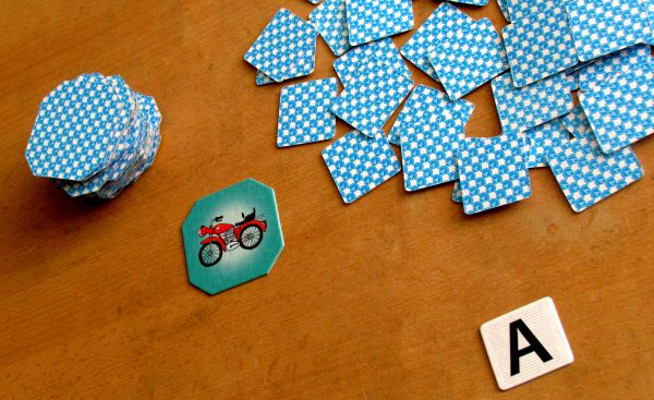 Písmenko k písmenku 2 - rozehraná hra