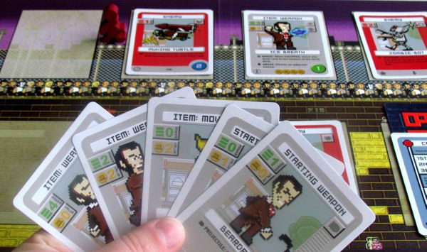 Pixel Lincoln - Deckbuilding Game - game in progress
