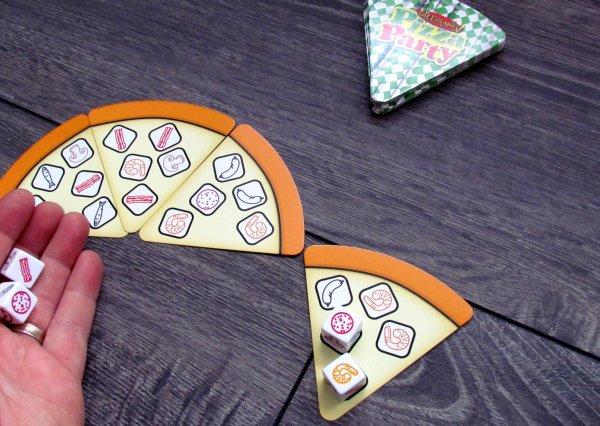 Pizza Party - rozehraná hra