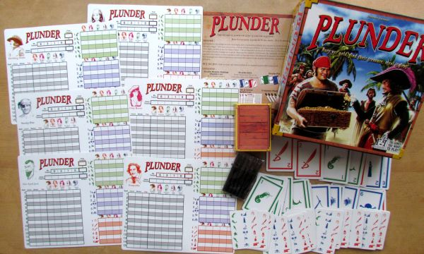 Plunder - packaging